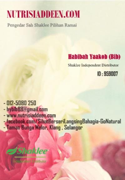 bib contactcard shaklee2