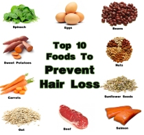 Top-10-Food-items-to-Prevent-Hair-Loss