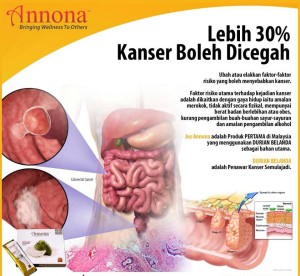 Jus-Annona-Penawar-kanser
